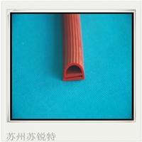 红色硅胶E型密实密封条
