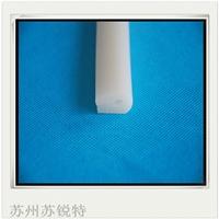 白色透明硅胶U型耐磨损密封条