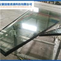 异形双钢中空玻璃
