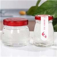 玻璃瓶高档蜂蜜瓶即食燕窝分装瓶家用密封瓶