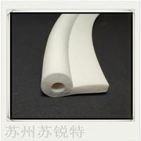 白色硅膠P型發泡密封條