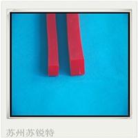红色硅胶方形发泡密封条