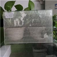 夹金属网玻璃