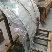 河北鄭州6毫米熱彎鋼化抽真空夾膠玻璃