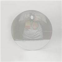 大版面圓形鏡面玻璃 物理鋼化護手鏡面鏡子玻璃廠