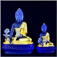 广州琉璃佛像工厂 琉璃药师佛万佛墙佛像 琉璃工艺品