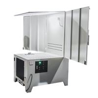 烟尘净化威德尔除尘器CZDM-2K中点式烟尘系统连接