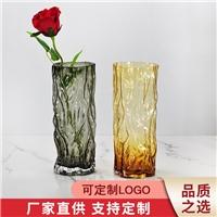 廠家直銷玻璃制品成批出售原色料玻璃花瓶支持定制