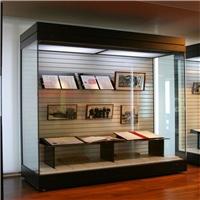 隆城展示打造定制防火防盜博物館展柜