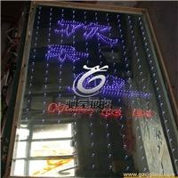定制5+5夹灯芯发光玻璃 酒店幕墙装饰玻璃