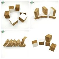 10-32mm厚 帶泡棉軟木墊  PVC泡棉玻璃軟木墊塊