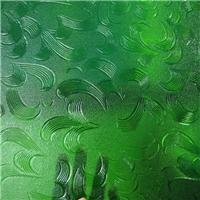 绿色压花玻璃―绿五月花,绿香梨,绿银波