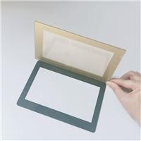 智能楼宇对讲机钢化玻璃 小区门禁显示屏面板丝印玻璃