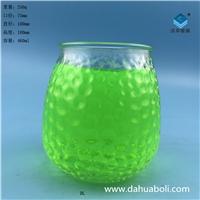 厂家直销工艺玻璃蜡烛杯