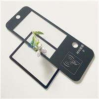 可视扫码钢化玻璃 无线呼救显示屏面板玻璃