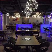 激光内雕发光玻璃在现代灯具上的应用