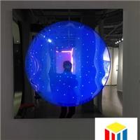 当代装置艺术和激光内雕发光玻璃