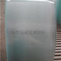 上海4MM弧形玻璃尺寸测量