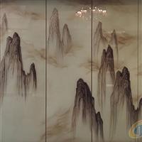 新中式背景墙—云上