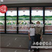 彩色玻璃穹頂蒂凡尼鑲嵌玻璃教堂風圓博工藝
