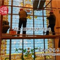 彩色玻璃穹頂新現代古典藝術圓博工藝