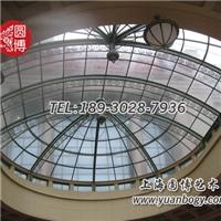 彩色玻璃穹頂高等定制新穎個性圓博工藝