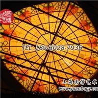 彩色玻璃穹頂大氣圓博工藝