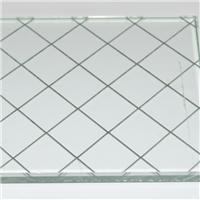 供应钢化超白夹丝玻璃