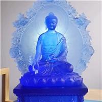 广州古法琉璃工艺品厂家 琉璃佛像定制 大件琉璃佛像雕像雕塑景观