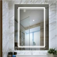 浴室镜 卫浴镜 壁挂洗漱台 河北沙河直销