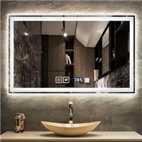 廠家直銷 燈鏡防霧帶燈 浴室鏡智能 led燈鏡