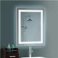華諾直供 帶燈壁掛防霧 衛生間掛墻帶燈 廁所衛浴鏡子