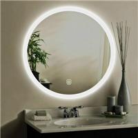 厂家制作 浴室镜智能 led化妆镜 圆形带灯化妆镜