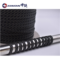 中绳 厂家直销20mm防火耐高温空心套管 芳纶编织套管