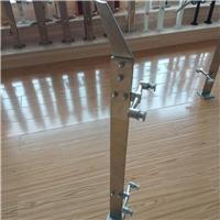 不锈钢喷漆栏杆镀黑扶手304厂家直销拉丝立柱单板双板