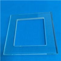 特价现货信义中高铝1.1国产玻璃1.3mm光学盖板 2.5mm台阶圆片加工