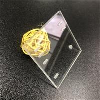 高等玻璃定制 超白玻璃準確鉆孔、減薄、表面研磨處理 AR鍍膜玻璃