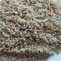 供应天然石英砂 精制均匀石英砂滤料 砾石垫层