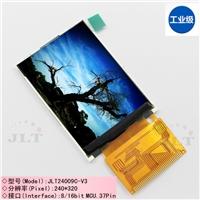 2.4寸彩Ψ 屏显示屏 240*320标准焊接37p电阻触摸屏