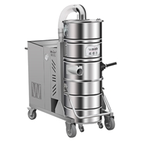 吸地面玻璃渣工业吸尘器WX100/75大功率工业吸尘器