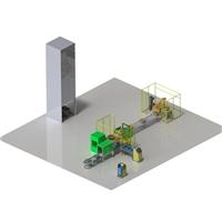 智能包装码垛解决方案(南江机器人)