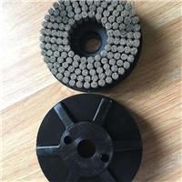 压铸件磨料丝抛光圆盘刷研磨丝抛光轮打磨去毛刺刷盘