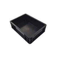 黑色防静电中空板周转箱厂家 塑胶骨架箱定制