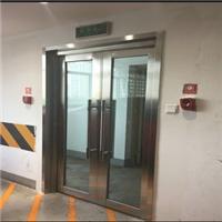 广东省佛山市甲及35mm纳米水晶硅防火玻璃门厂家报价