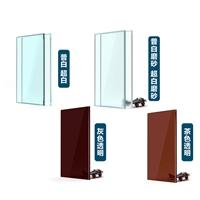 厂家专业加工彩釉玻璃,定做3MM-15MM彩釉玻璃定制