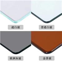 厂家专业加工玻璃餐桌,定做3MM-15MM钢化玻璃定制