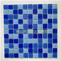 浙江蓝色游泳池玻璃马赛克瓷砖该如何挑选