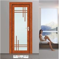 钛镁铝合金中空玻璃洗手间门全铝房间门工程门定制