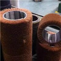 玻璃清洗机毛刷辊钢板预处理线毛刷辊缠绕式弹簧刷