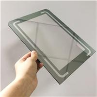 旭鹏加工魔镜玻璃 透7反3镜显玻璃